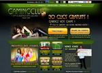 Gaming club Casino - 30 tours gratuits - bonus sans dépôt